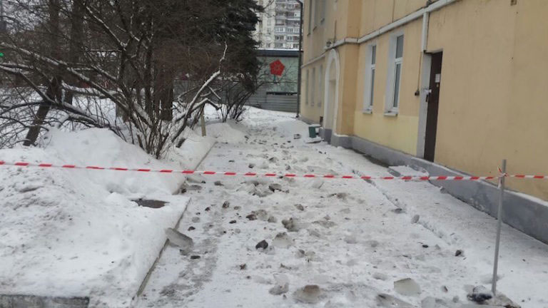 Нормативы по уборке снега с крыши