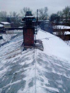 Правила очистки крыш от наледи