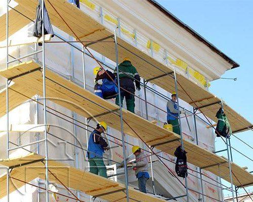 ремонт фасадов в Москве