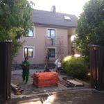 Ремонт и покраска фасада частного дома