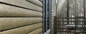 Облицовка фасада сайдингом, технология отделки