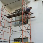 Капитальный ремонт штукатурки фасада
