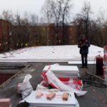 Утепление мягкой кровли административного здания