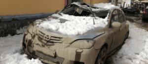 очитска крыши от снега последствия
