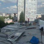 Капитальный ремонт металлической фальцевой кровли в центре Москвы