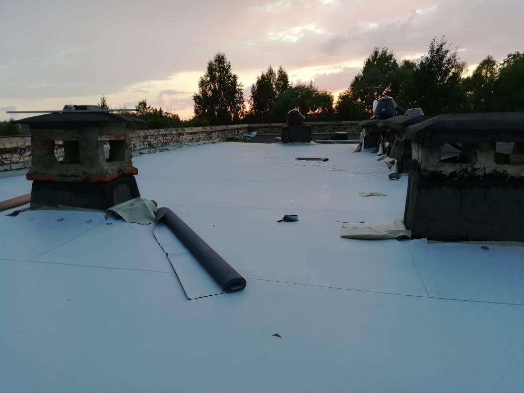 ремонт мембранной крыши