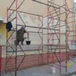 Устройство фасада на ул. Белорусской