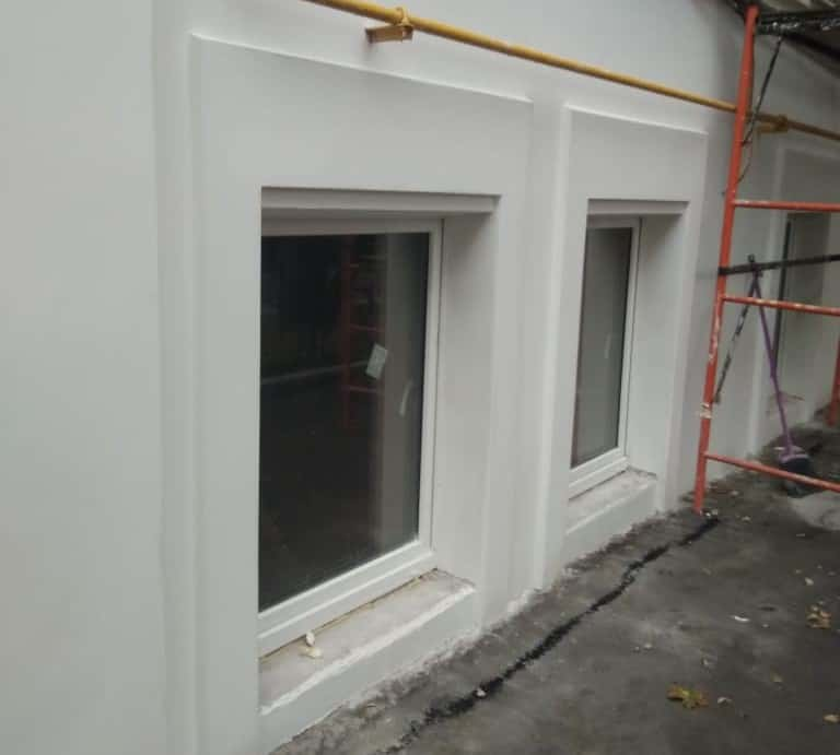 ремонт фасада