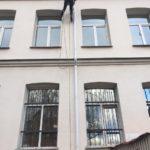ремонт фасада офиса