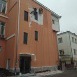 Ремонт фасада на Белорусской