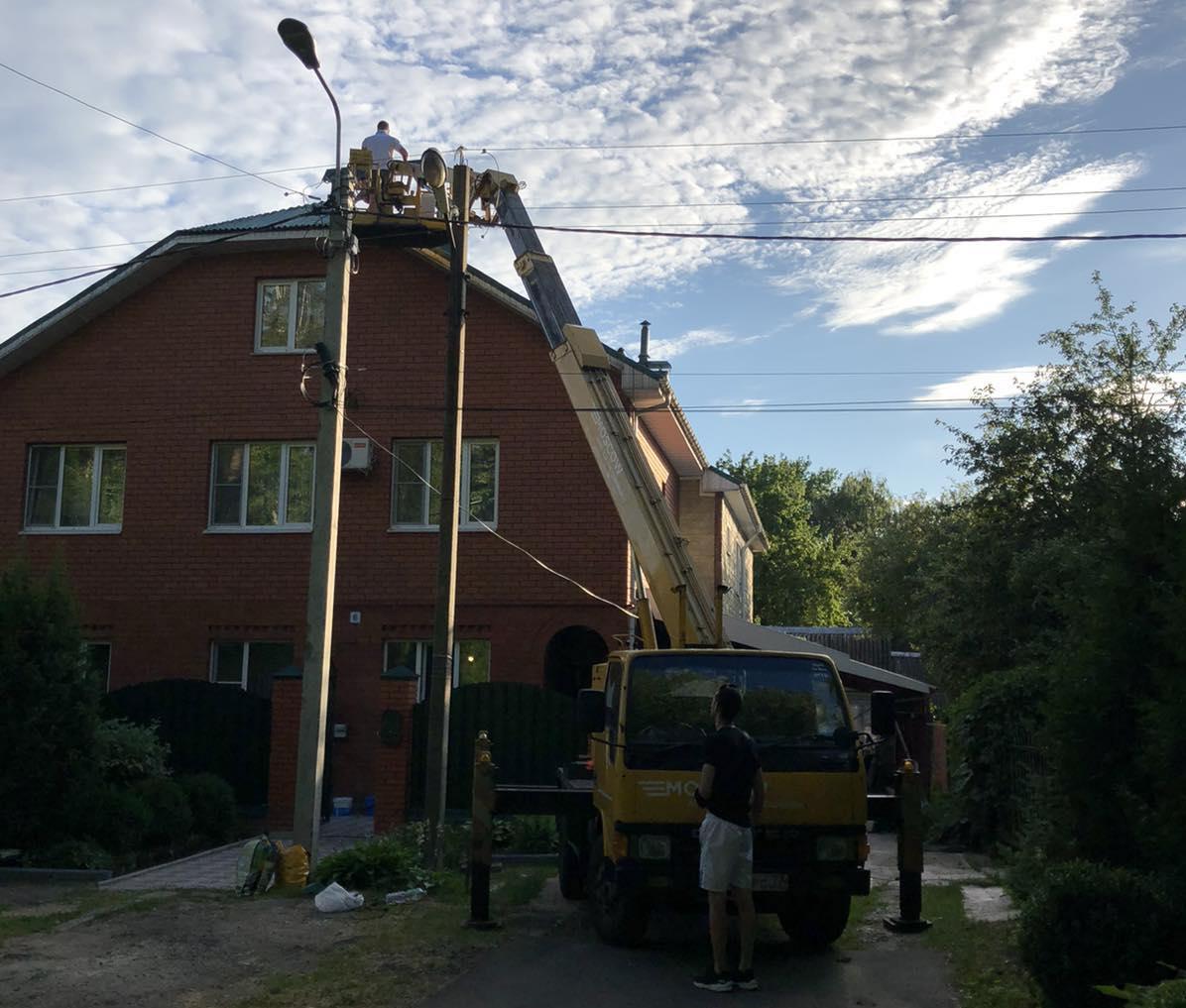 ремонт кровли частного дома МО