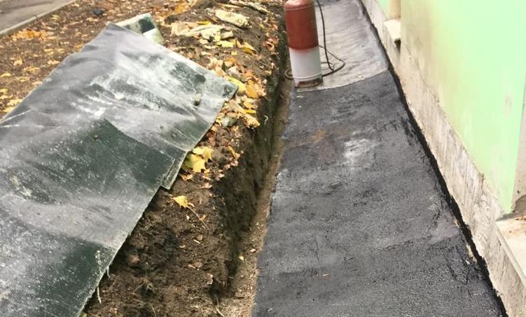 ремонт отростки здания