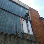 ремонт фасадного остекления