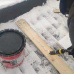 Устраняем протечку в зимнее время на коттедже