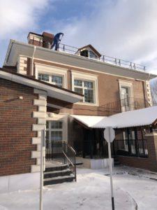 очистить крышу от снежных масс