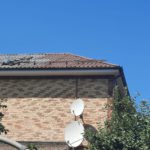 покраска крыши частного дома