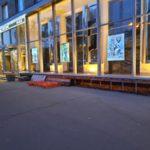ремонт входной группы магазина